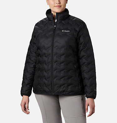 Women's Delta Ridge™ Down Jacket - Plus Size Delta Ridge™ Down Jacket | 671 | 2X, Black, front