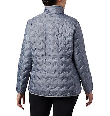 Women's Delta Ridge™ Down Jacket - Plus Size Delta Ridge™ Down Jacket | 671 | 2X, Tradewinds Grey Heather, back