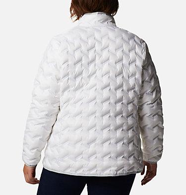 Manteau en duvet Delta Ridge™ pour femme Delta Ridge™ Down Jacket | 658 | 1X, White, back