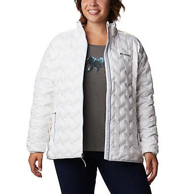 Manteau en duvet Delta Ridge™ pour femme Delta Ridge™ Down Jacket | 658 | 1X, White, front