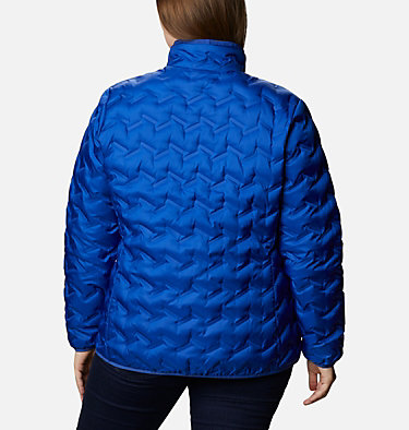 Women's Delta Ridge™ Down Jacket - Plus Size Delta Ridge™ Down Jacket | 671 | 2X, Lapis Blue, back