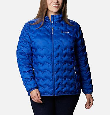 Women's Delta Ridge™ Down Jacket - Plus Size Delta Ridge™ Down Jacket | 671 | 2X, Lapis Blue, front