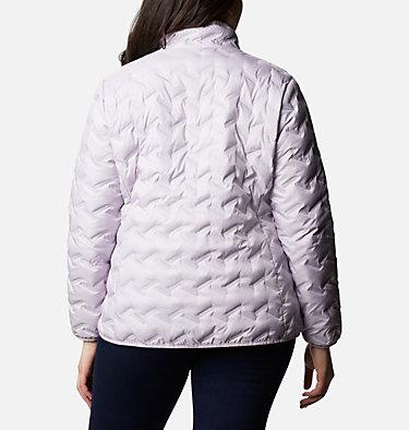 Women's Delta Ridge™ Down Jacket - Plus Size Delta Ridge™ Down Jacket | 671 | 2X, Pale Lilac, back