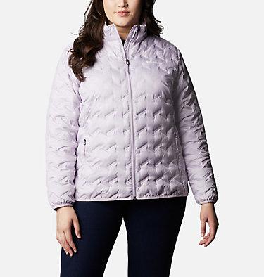 Women's Delta Ridge™ Down Jacket - Plus Size Delta Ridge™ Down Jacket | 671 | 2X, Pale Lilac, front