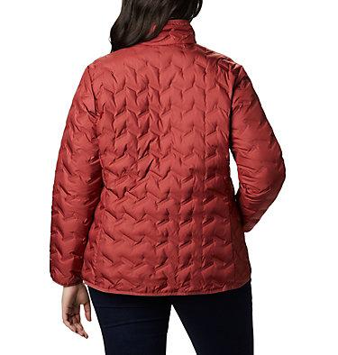 Women's Delta Ridge™ Down Jacket - Plus Size Delta Ridge™ Down Jacket | 671 | 2X, Dusty Crimson, back
