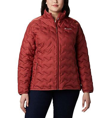 Women's Delta Ridge™ Down Jacket - Plus Size Delta Ridge™ Down Jacket | 671 | 2X, Dusty Crimson, front