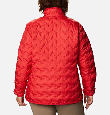 Manteau en duvet Delta Ridge™ pour femme Delta Ridge™ Down Jacket | 658 | 1X, Red Lily, back