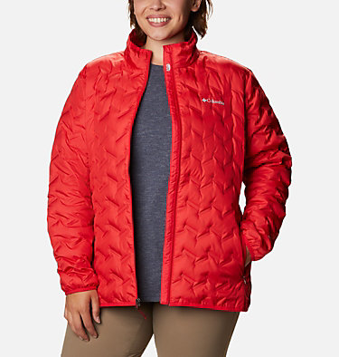Manteau en duvet Delta Ridge™ pour femme Delta Ridge™ Down Jacket | 658 | 1X, Red Lily, front