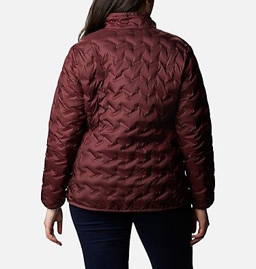 Women's Delta Ridge™ Down Jacket - Plus Size Delta Ridge™ Down Jacket | 671 | 2X, Malbec, back