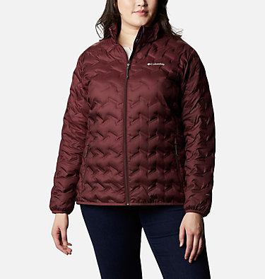 Women's Delta Ridge™ Down Jacket - Plus Size Delta Ridge™ Down Jacket | 671 | 2X, Malbec, front