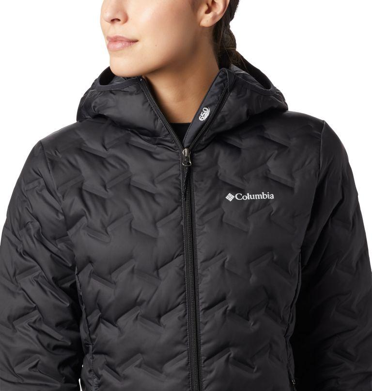 Delta Ridge™ Down Hooded Jacket | 010 | S Women's Delta Ridge™ Down Hooded Jacket, Black, a1
