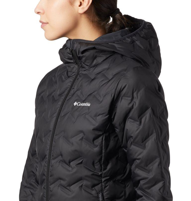Delta Ridge™ Down Hooded Jacket | 010 | S Women's Delta Ridge™ Down Hooded Jacket, Black, a2
