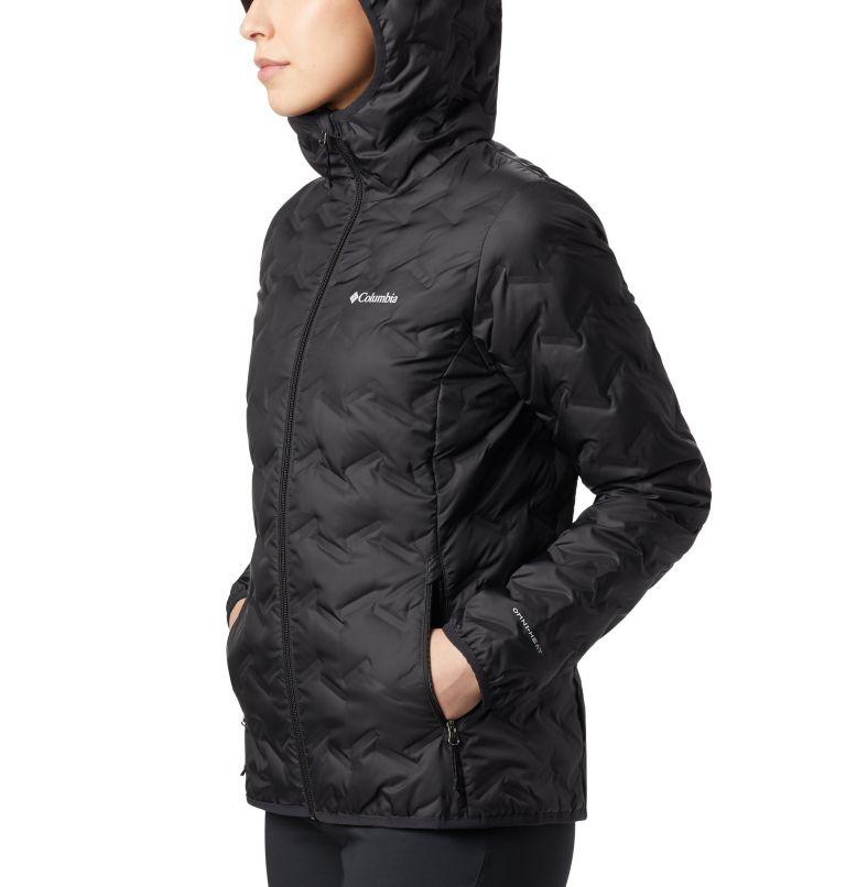 Delta Ridge™ Down Hooded Jacket | 010 | S Women's Delta Ridge™ Down Hooded Jacket, Black, a3