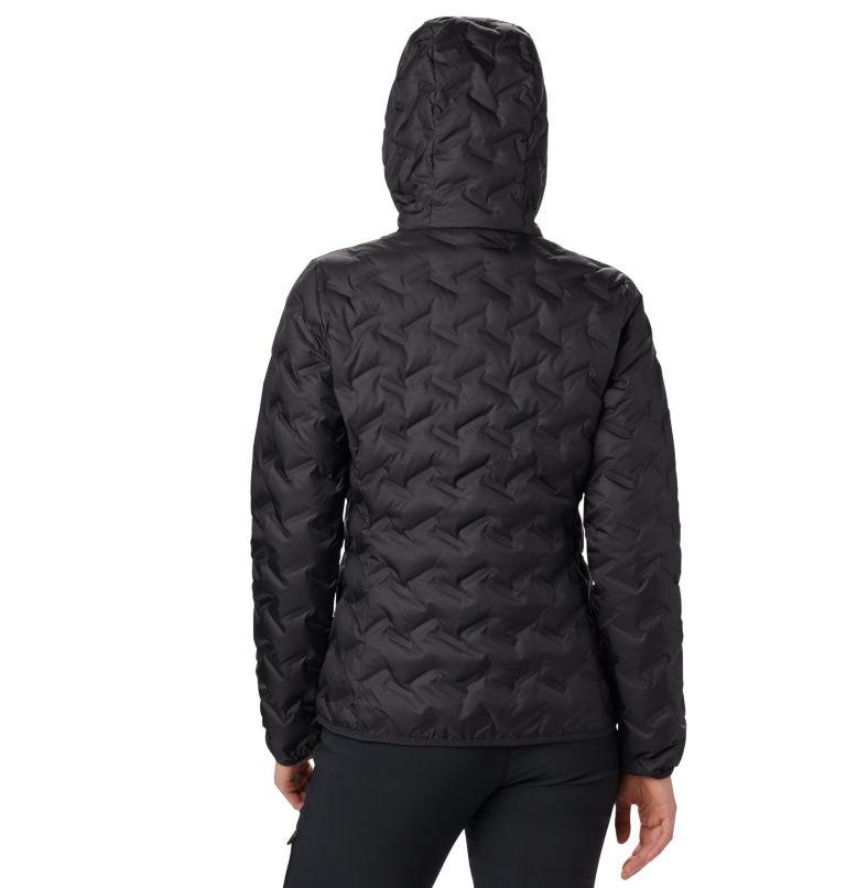 Delta Ridge™ Down Hooded Jacket | 010 | S Women's Delta Ridge™ Down Hooded Jacket, Black, back