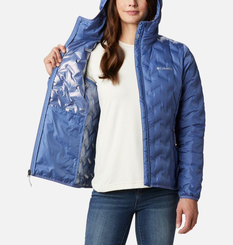 Delta Ridge™ Down Hooded Jacket | 458 | XXL Women's Delta Ridge™ Down Hooded Jacket, Velvet Cove, a3