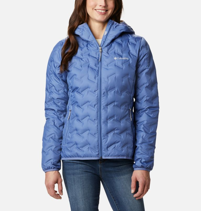Delta Ridge™ Down Hooded Jacket | 458 | XXL Women's Delta Ridge™ Down Hooded Jacket, Velvet Cove, front