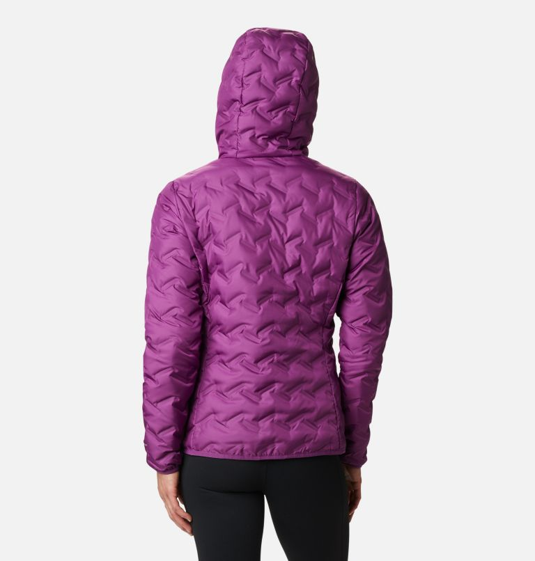 Delta Ridge™ Down Hooded Jacket | 575 | XXL Women's Delta Ridge™ Down Hooded Jacket, Plum, back