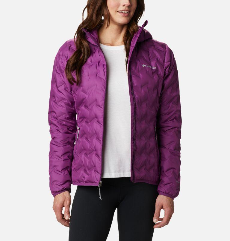 Delta Ridge™ Down Hooded Jacket | 575 | S Women's Delta Ridge™ Down Hooded Jacket, Plum, front
