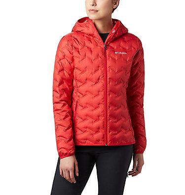 Women's Delta Ridge™ Down Hooded Jacket Delta Ridge™ Down Hooded Jacket | 458 | XL, Red Lily, front