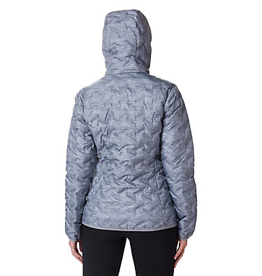 Doudoune À Capuche Delta Ridge Femme Delta Ridge™ Down Hooded Jacke | 010 | L, Tradewinds Grey Heather, back