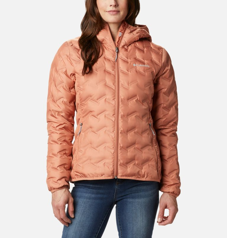 Women's Delta Ridge Down Hooded Jacket Women's Delta Ridge Down Hooded Jacket, front