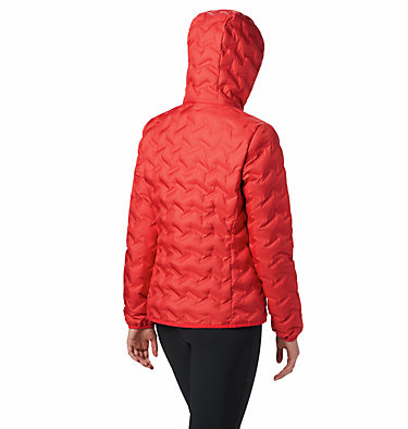 Delta Ridge Daunenjacke mit Kapuze für Damen Delta Ridge™ Down Hooded Jacke | 010 | L, Red Lily, back