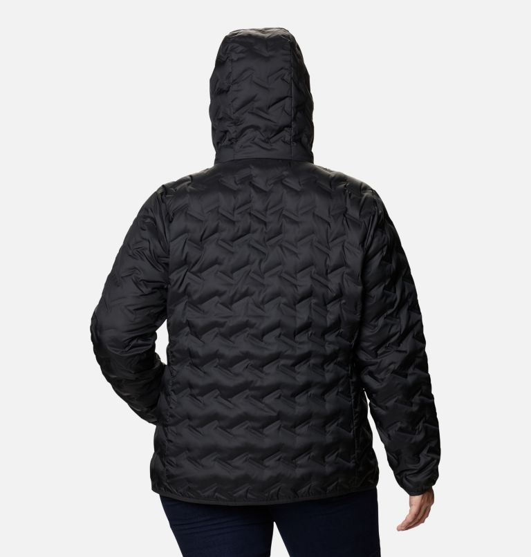 Women's Delta Ridge™ Down Hooded Jacket - Plus Size Women's Delta Ridge™ Down Hooded Jacket - Plus Size, back