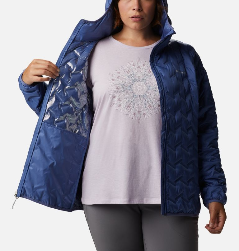 Women's Delta Ridge™ Down Hooded Jacket - Plus Size Women's Delta Ridge™ Down Hooded Jacket - Plus Size, a3