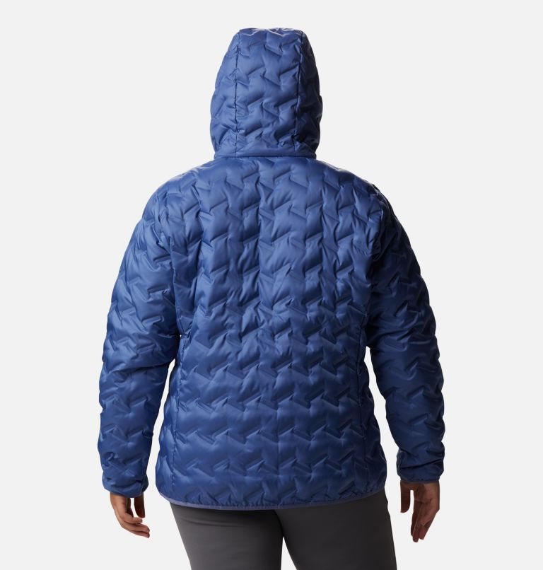 Women's Delta Ridge™ Down Hooded Jacket - Plus Size Women's Delta Ridge™ Down Hooded Jacket - Plus Size, back