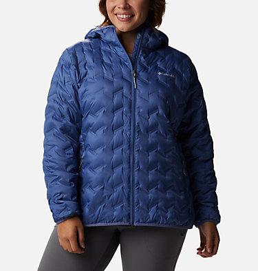 Women's Delta Ridge™ Down Hooded Jacket - Plus Size Delta Ridge™ Down Hooded Jacket | 658 | 2X, Velvet Cove, front