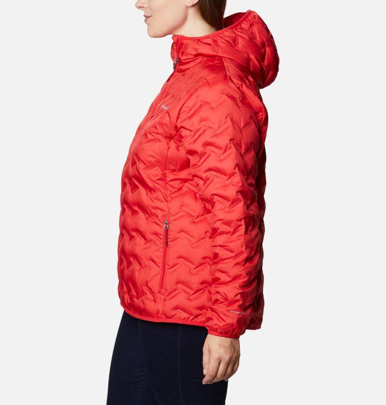 Delta Ridge™ Down Hooded Jacket | 658 | 3X Women's Delta Ridge™ Down Hooded Jacket - Plus Size, Red Lily, a1
