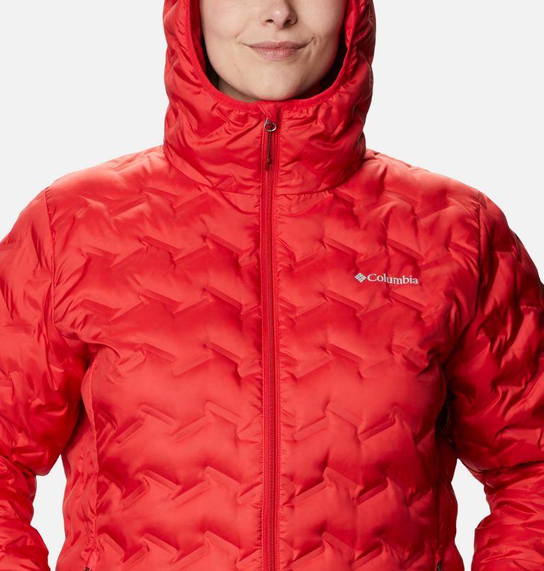 Delta Ridge™ Down Hooded Jacket | 658 | 3X Women's Delta Ridge™ Down Hooded Jacket - Plus Size, Red Lily, a2