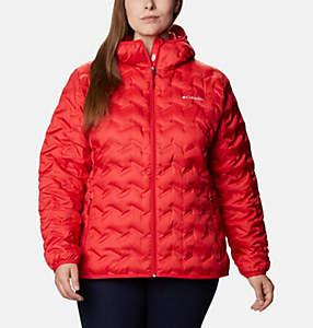 Women's Delta Ridge™ Down Hooded Jacket - Plus Size