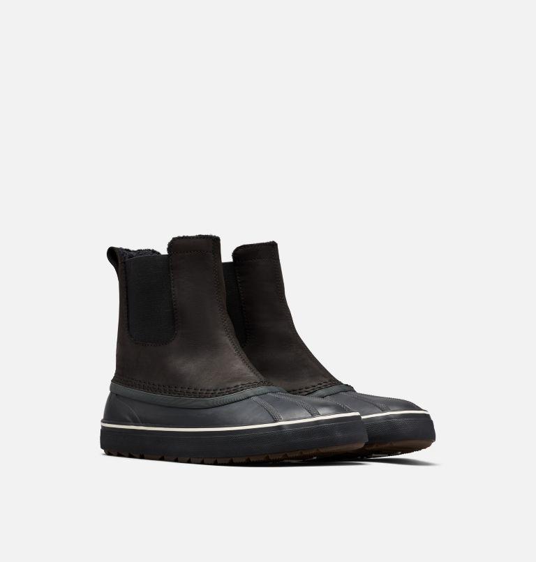 CHEYANNE™ METRO CHELSEA WP | 010 | 10.5 Men's Cheyanne™ Metro Chelsea Boot, Black, Black, 3/4 front
