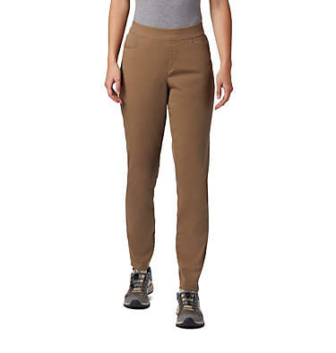 Women's Pinnacle Peak™ Colored Twill Leggings Pinnacle Peak™ Colored Twill L | 522 | L, Truffle, front