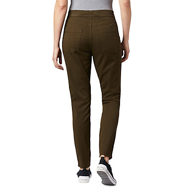 Women's Pinnacle Peak™ Colored Twill Leggings Pinnacle Peak™ Colored Twill L | 522 | L, Olive Green, back