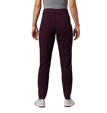Women's Pinnacle Peak™ Colored Twill Leggings Pinnacle Peak™ Colored Twill L | 522 | L, Black Cherry, back