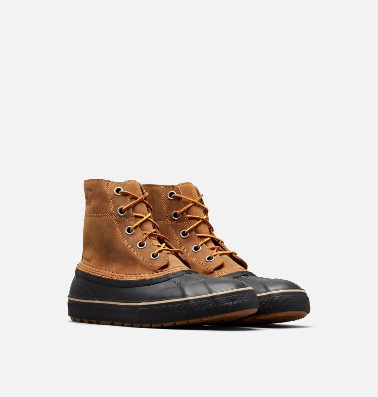 CHEYANNE™ METRO LACE WP | 286 | 7 Men's Cheyanne™ Metro Lace Boot, Elk, Black, 3/4 front