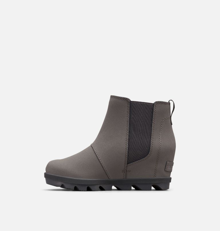 YOUTH JOAN OF ARCTIC™ WEDGE II CHELSEA | 052 | 4 Youth Joan Of Arctic™ Wedge II Chelsea Bootie, Quarry, Dark Slate, medial