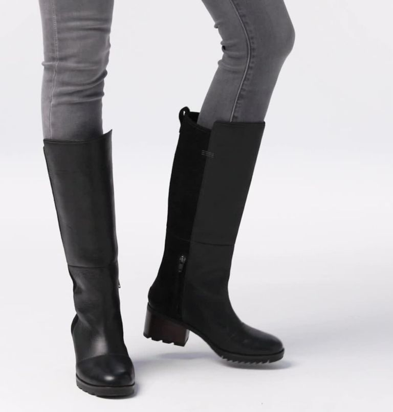 CATE™ TALL | 010 | 5.5 Women's Cate™ Tall Boot, Black, video