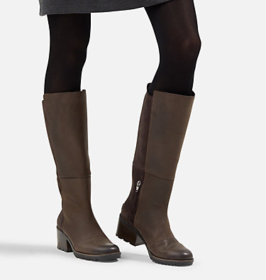 Women's Cate™ Tall Boot CATE™ TALL | 010 | 10, Blackened Brown, video