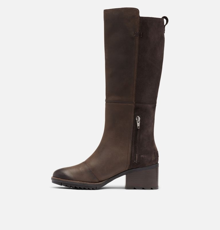 CATE™ TALL | 205 | 8.5 Women's Cate™ Tall Boot, Blackened Brown, medial