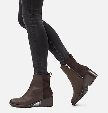 Women's Cate™ Bootie CATE™ BOOTIE | 010 | 12, Blackened Brown, video