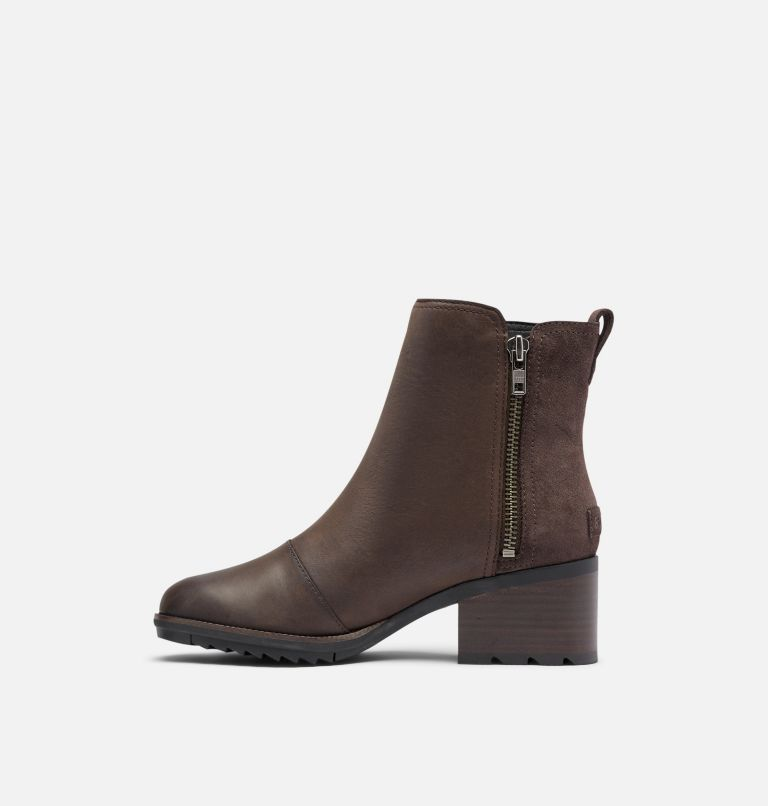 CATE™ BOOTIE | 205 | 5 Women's Cate™ Bootie, Blackened Brown, medial