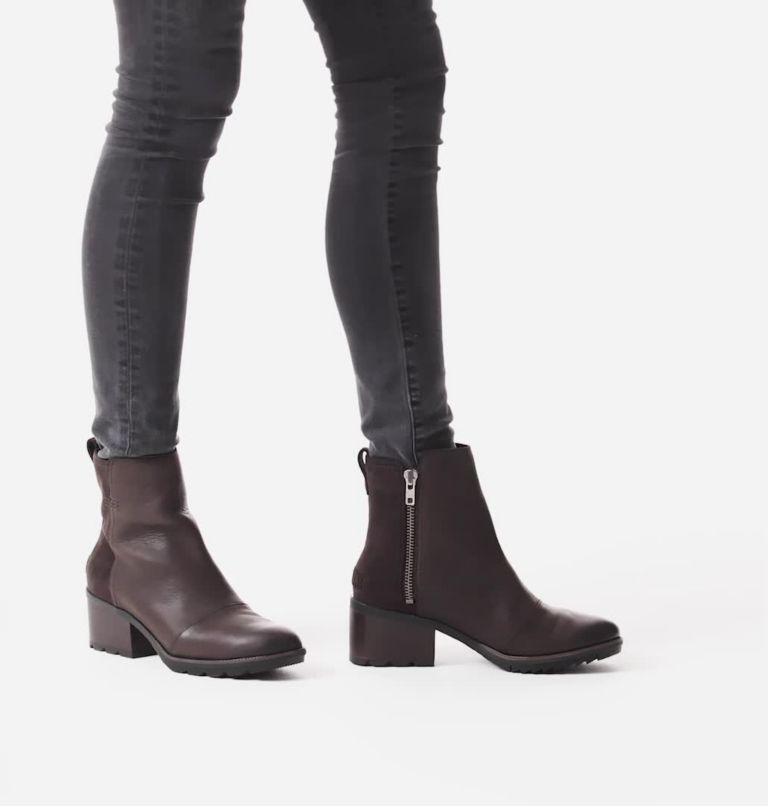 CATE™ BOOTIE | 205 | 9.5 Women's Cate™ Bootie, Blackened Brown, video