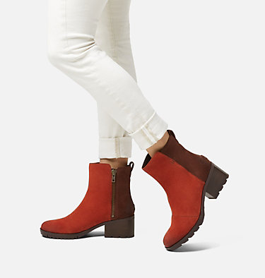 Women's Cate™ Bootie CATE™ BOOTIE | 224 | 10, Carnelian Red, video