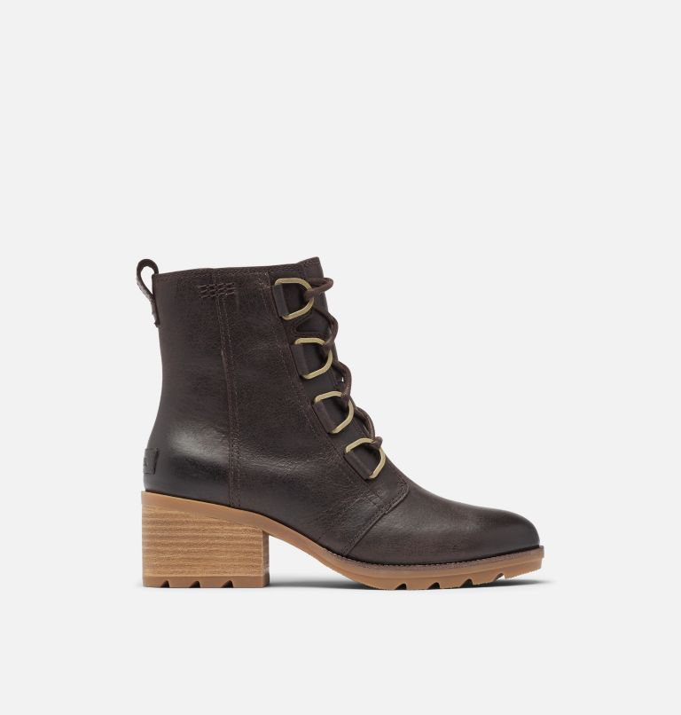 CATE™ LACE | 205 | 8 Women's Cate™ Lace Bootie, Blackened Brown, front