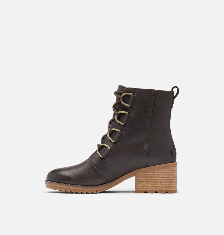 CATE™ LACE | 205 | 8 Women's Cate™ Lace Bootie, Blackened Brown, medial