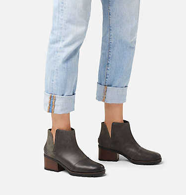 Women's Cate™ Cut-Out Bootie CATE™ CUT OUT | 282 | 10, Quarry, video