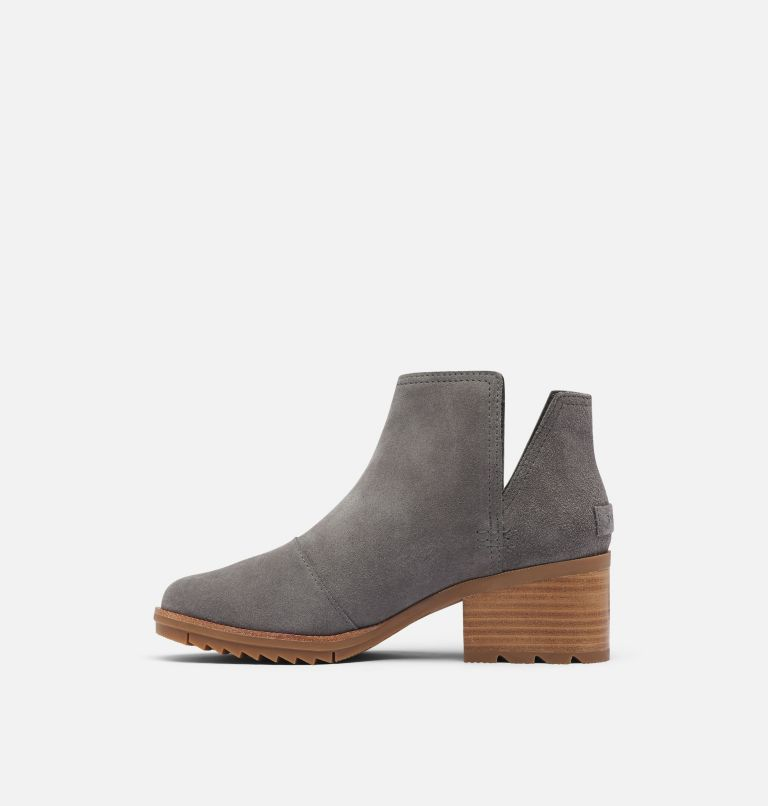 CATE™ CUT OUT | 052 | 9.5 Women's Cate™ Cut-Out Bootie, Light Quarry, medial